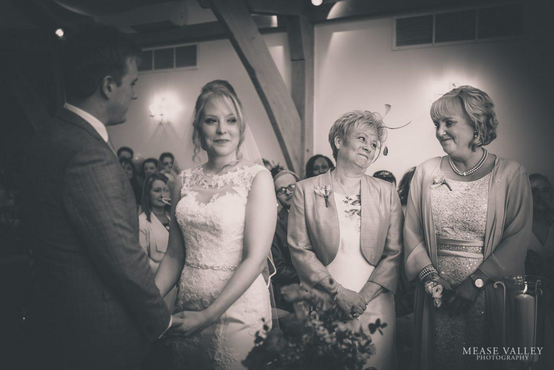 Mythe Barn Wedding Ceremony